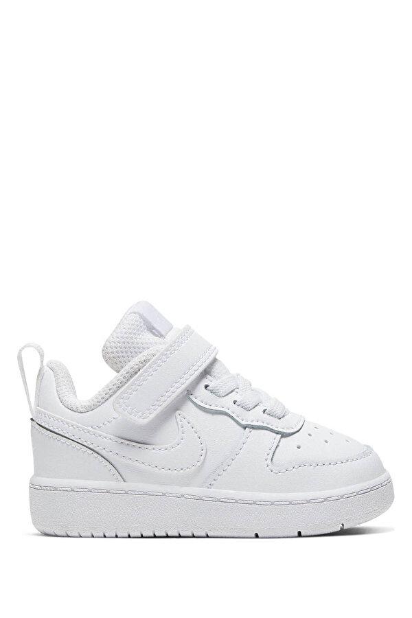 Nike COURT BOROUGH LOW 2 Beyaz Erkek Çocuk Sneaker Ayakkabı