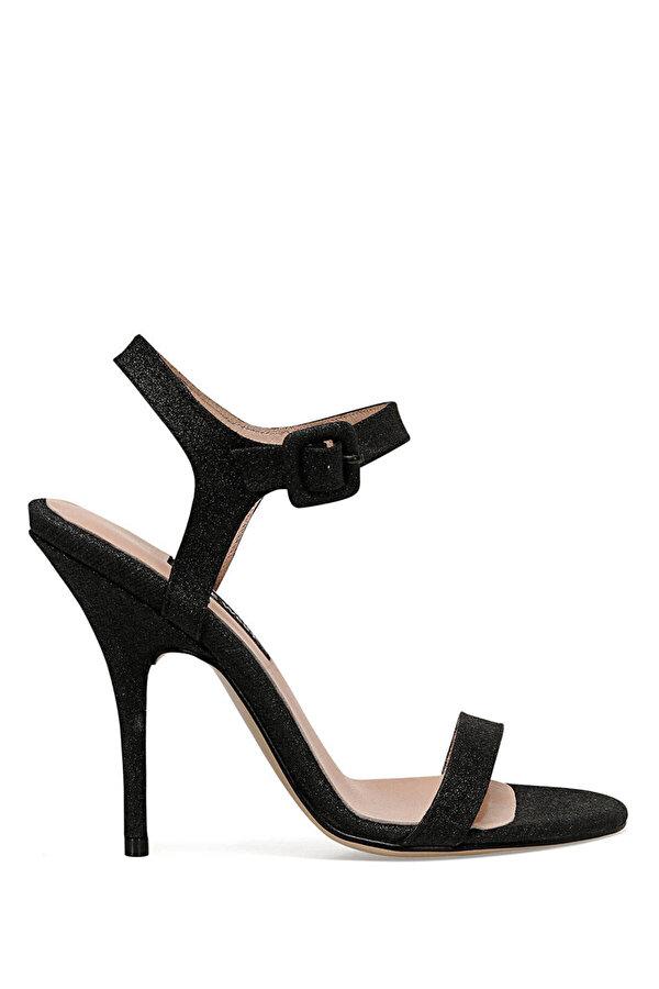Nine West TALLY3 Siyah Kadın Topuklu Sandalet