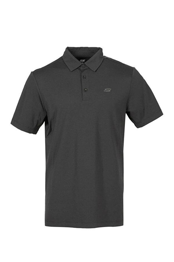 Skechers POLO'S M STRCH T-SHIRT Antrasit Erkek T-Shirt