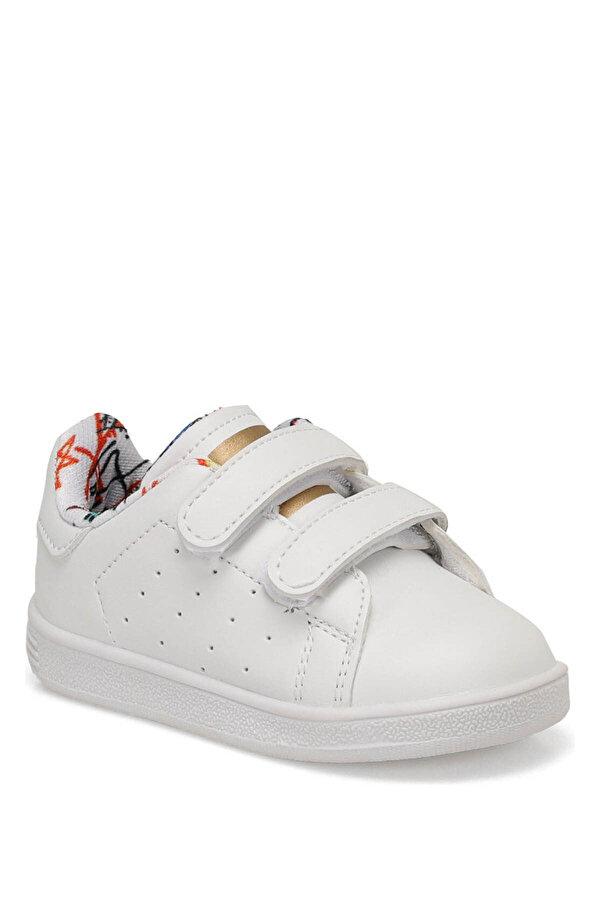 Slazenger FUAT Beyaz Unisex Çocuk Kalın Tabanlı Sneaker