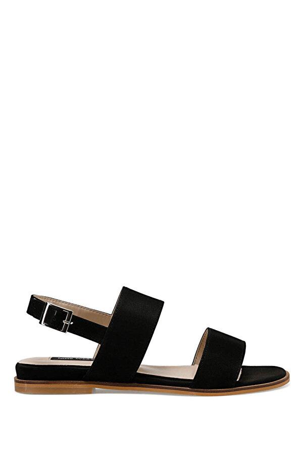 Nine West BARDENO Siyah Kadın Düz Sandalet