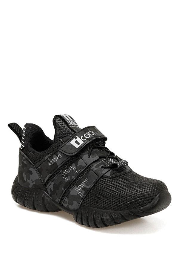 I Cool TREE Siyah Erkek Çocuk Koşu Ayakkabısı