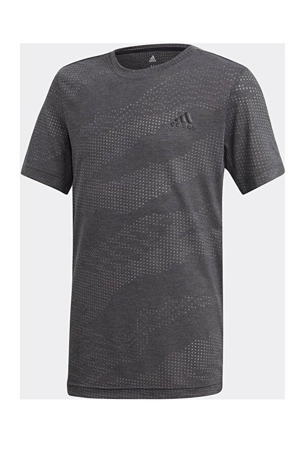 Adidas YB TR AERO Siyah Erkek Çocuk Kısa Kol Tişört