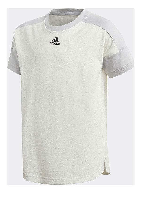 Adidas YB STADIUM KIRIK BEYAZ Erkek Çocuk Kısa Kol T-shirt