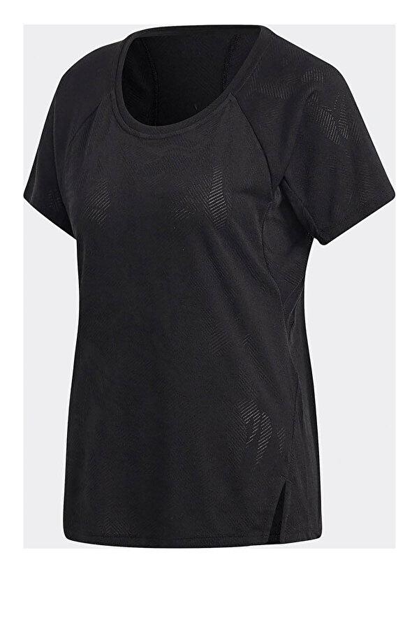 adidas TRNG TEE AEROKT Siyah Kadın Kısa Kol T-shirt
