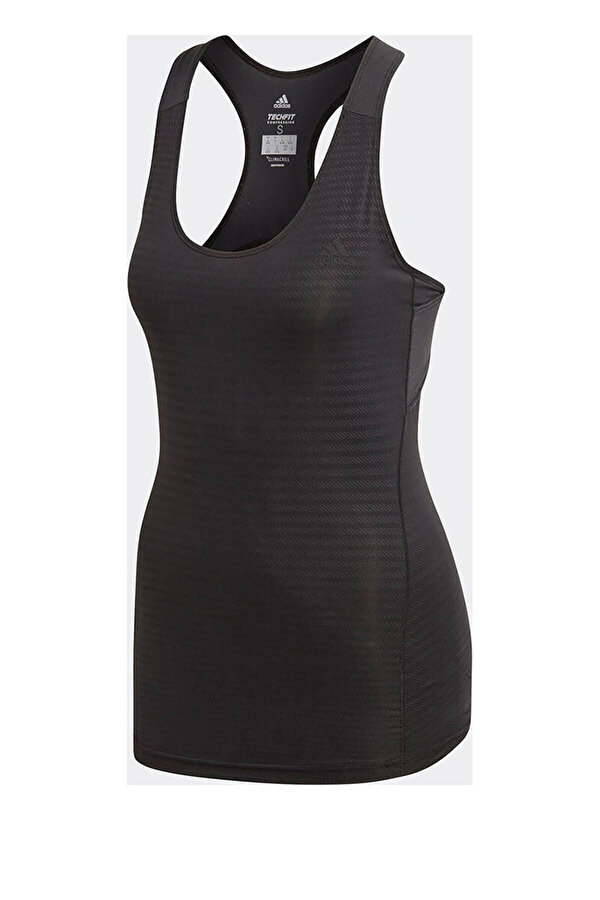Adidas ASK TEC TOP TK Siyah Kadın Kolsuz T-Shirt