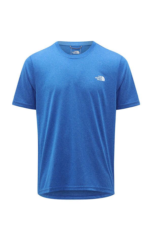 THE NORTH FACE NF0A3RX3W1H1 Mavi Erkek Kısa Kol T-Shirt