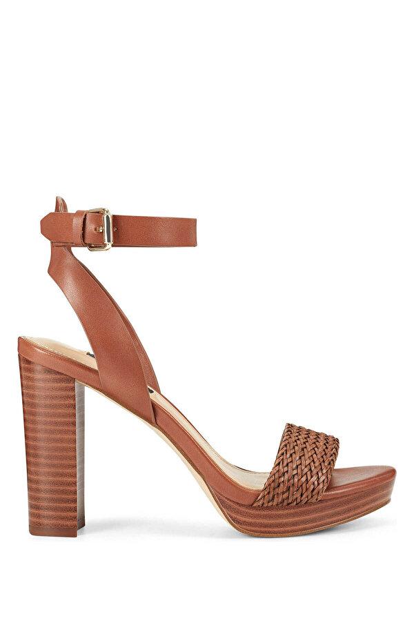 Nine West DELUXE Taba Kadın Topuklu Sandalet