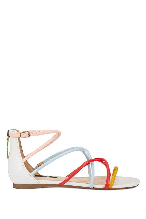 Nine West WHISPER3 Çok Renkli Kadın Düz Sandalet