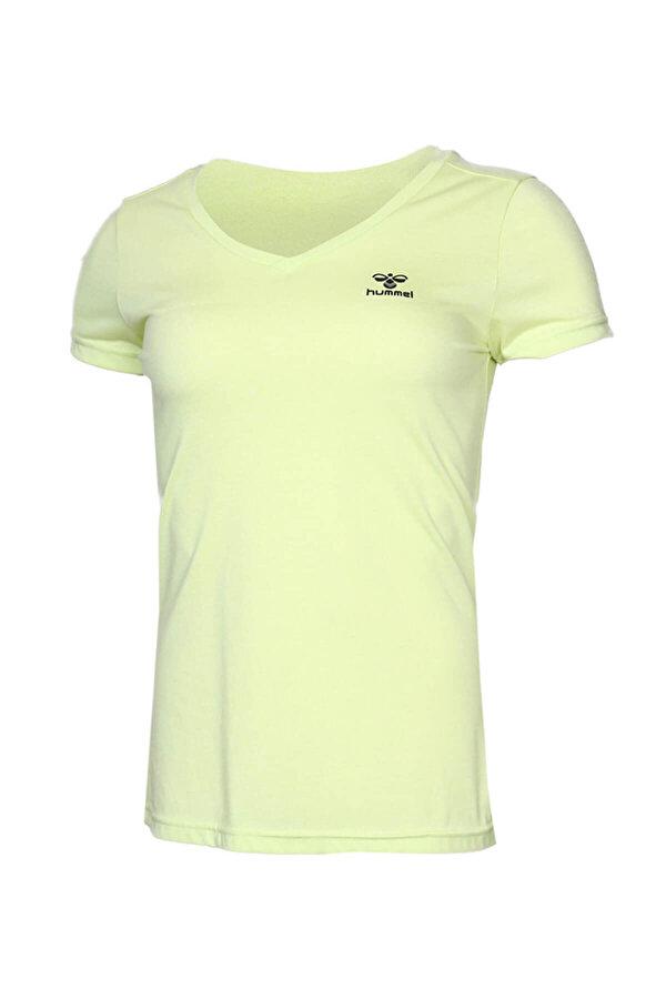 Hummel HMLVLORA  T-SHIRT S/S Sarı Kadın T-Shirt