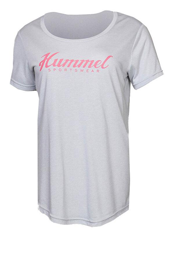 Hummel HMLLEISA  T-SHIRT S/S Beyaz Kadın Kısa Kol Tişört