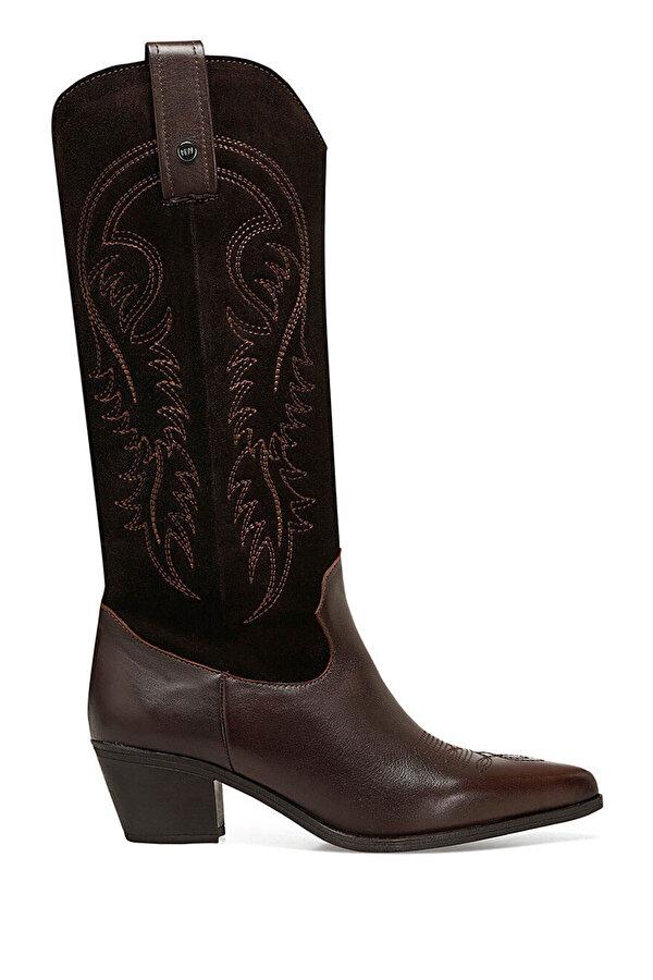 Nine West AVALA Taba Kadın Topuklu Çizme
