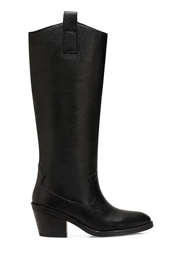 Nine West COSMIC Siyah Kadın Topuklu Çizme