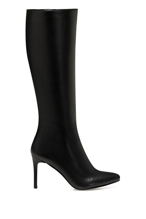 Nine West KAREN Siyah Kadın Topuklu Çizme