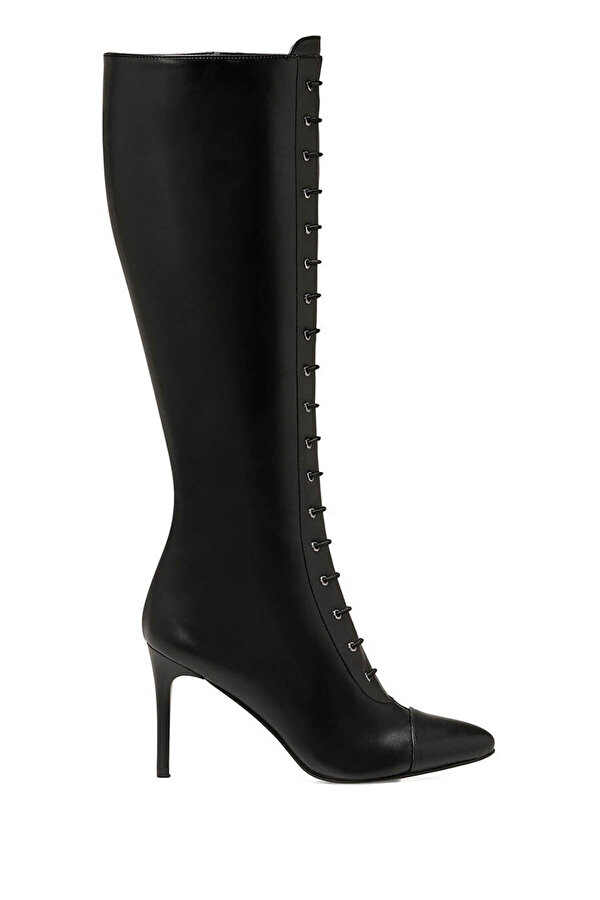 Nine West PIPPA Siyah Kadın Topuklu Çizme