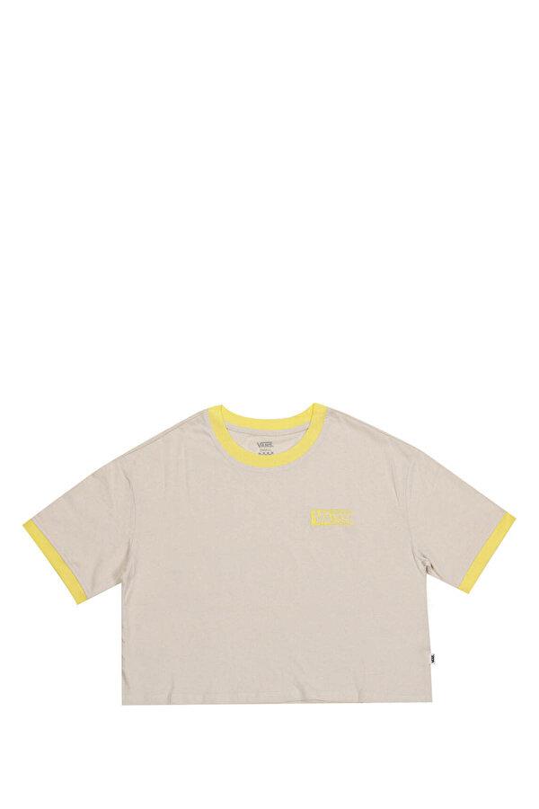 Vans HALF TAB Sarı Kadın T-Shirt