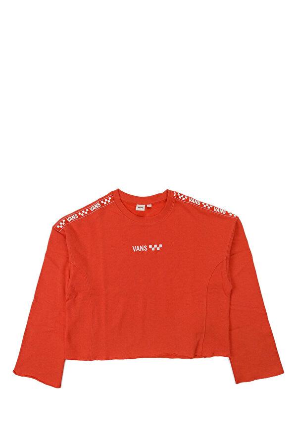 Vans BRAND STRIPER CREW Turuncu Kadın Sweatshirt