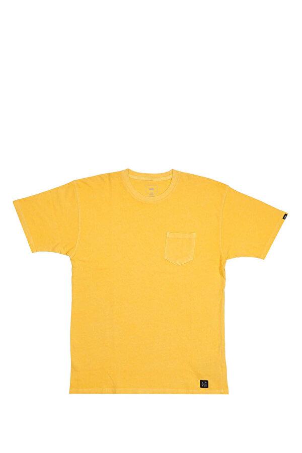 Vans EB PICO BLVD POCKET TEE Sarı Erkek T-Shirt
