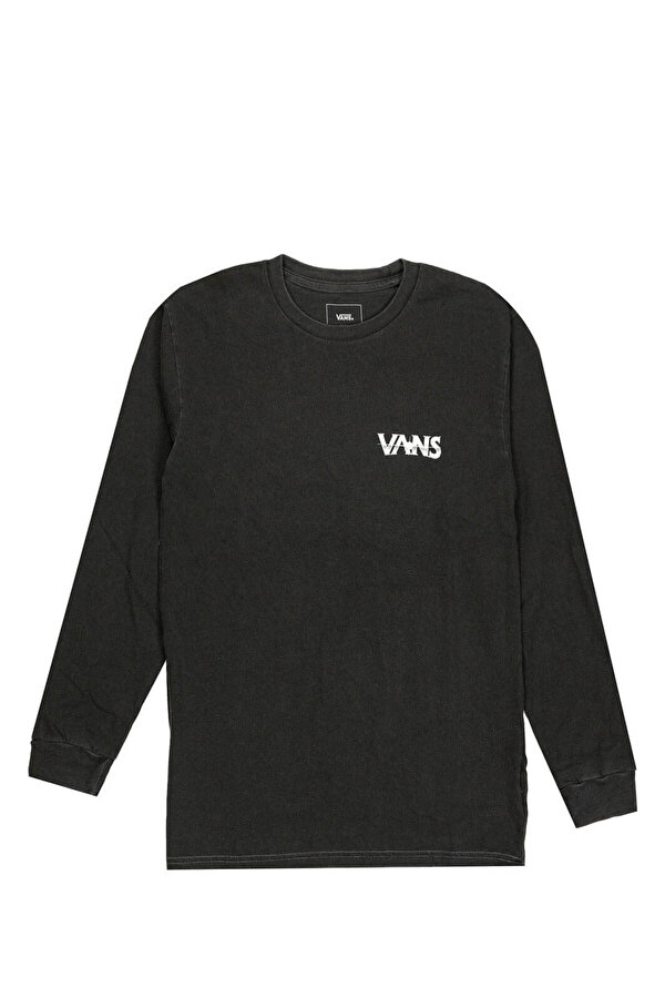 Vans VINTAGE DARK TIMES LS Siyah Erkek Uzun Kol T-Shirt