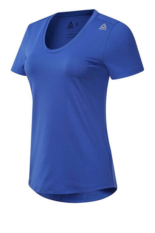 Reebok WOR SW TEE Mavi Kadın T-Shirt