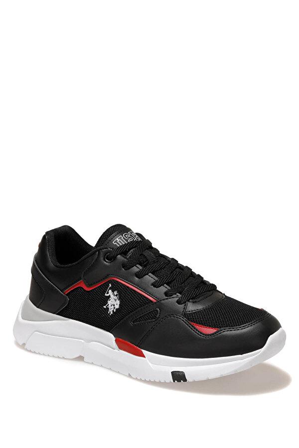 U.S. Polo Assn. HOLD TEX Siyah Erkek Sneaker