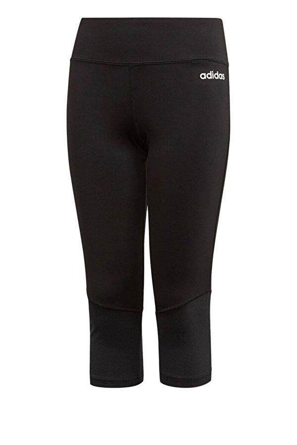 Adidas YG C 3/4 TIGHT Siyah Kız Çocuk Tayt