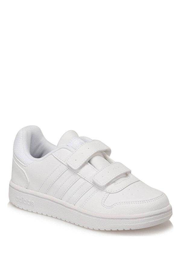 Adidas HOOPS 2.0 CMF C Beyaz Kız Çocuk Sneaker Ayakkabı