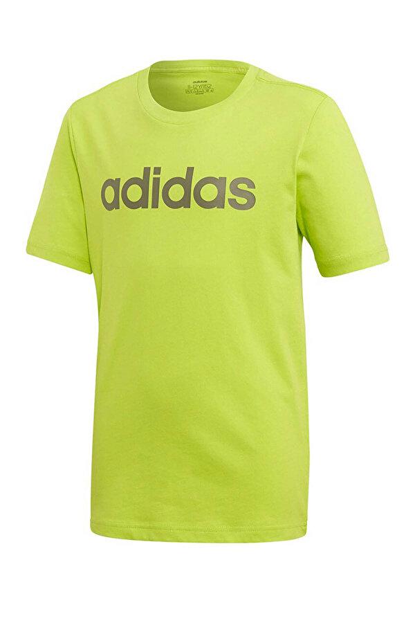 adidas YB E LIN TEE Yeşil Erkek Çocuk T-Shirt