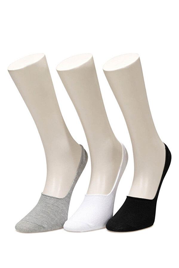 Lumberjack CO5 DELIAH BABET 3LU Siyah Kadın Babet Çorabı