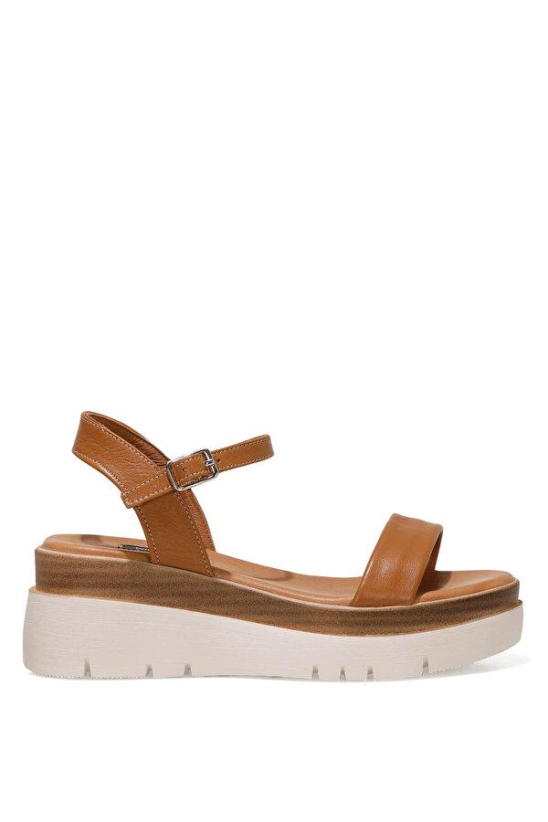 Nine West MILLEN 1FX Taba Kadın Dolgu Topuk Sandalet