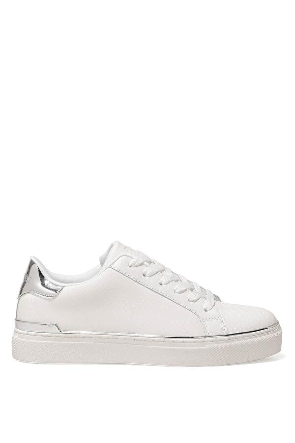 Nine West BEGANA 1FX Beyaz Kadın Havuz Taban Sneaker