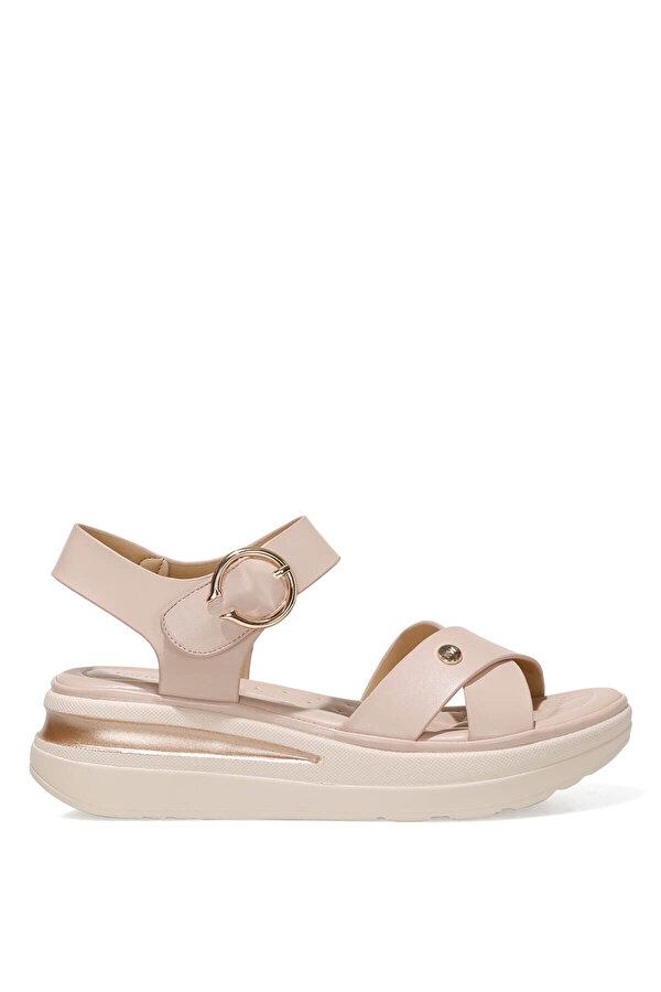 Nine West DANNA 1FX Pudra Kadın Dolgu Topuk Sandalet