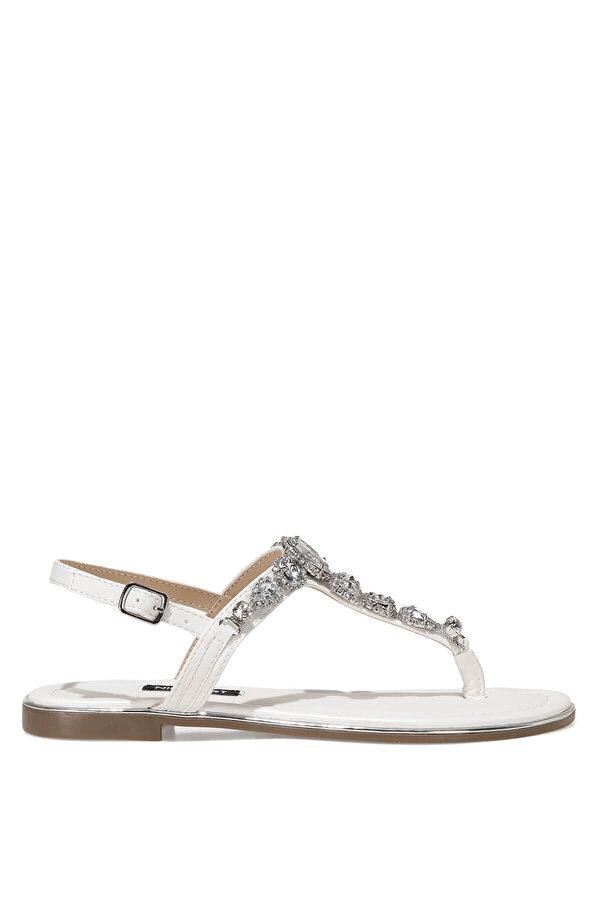 Nine West ZULI 1FX Beyaz Kadın Sandalet