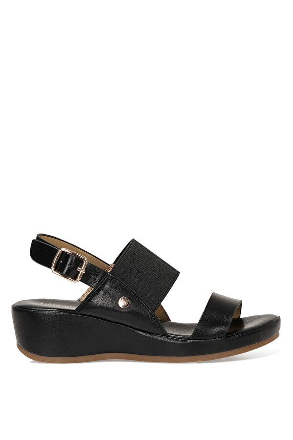 Nine West DANE 1FX Siyah Kadın Comfort Sandalet