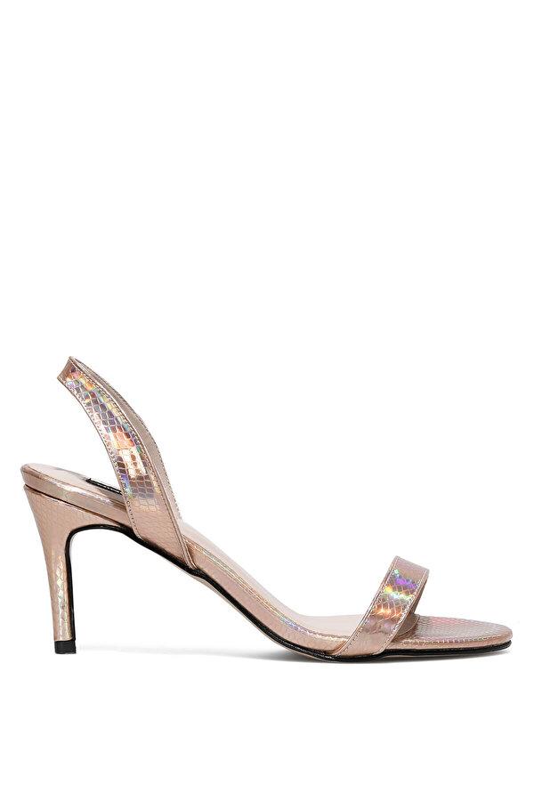 Nine West PUNAMI2 1FX Rose Gold Kadın Topuklu Sandalet
