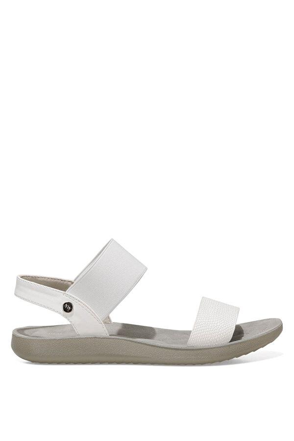 Nine West FRANKY 1FX Beyaz Kadın Düz Sandalet