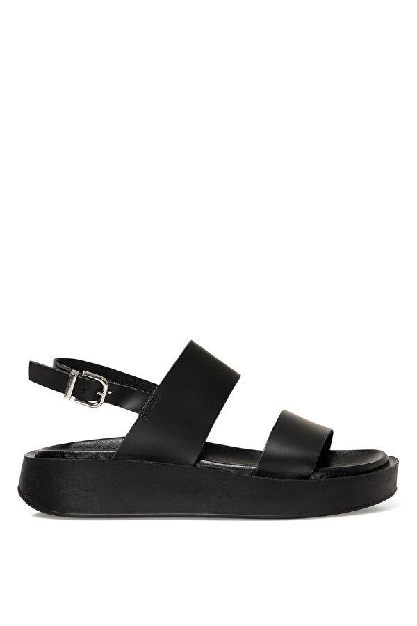 Nine West MELO 1FX Siyah Kadın Dolgu Topuk Sandalet
