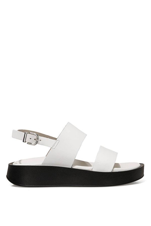 Nine West MELO 1FX Beyaz Kadın Dolgu Topuk Sandalet
