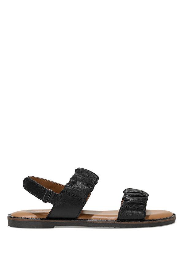 Nine West GUMBAMA 1FX Siyah Kadın Düz Sandalet