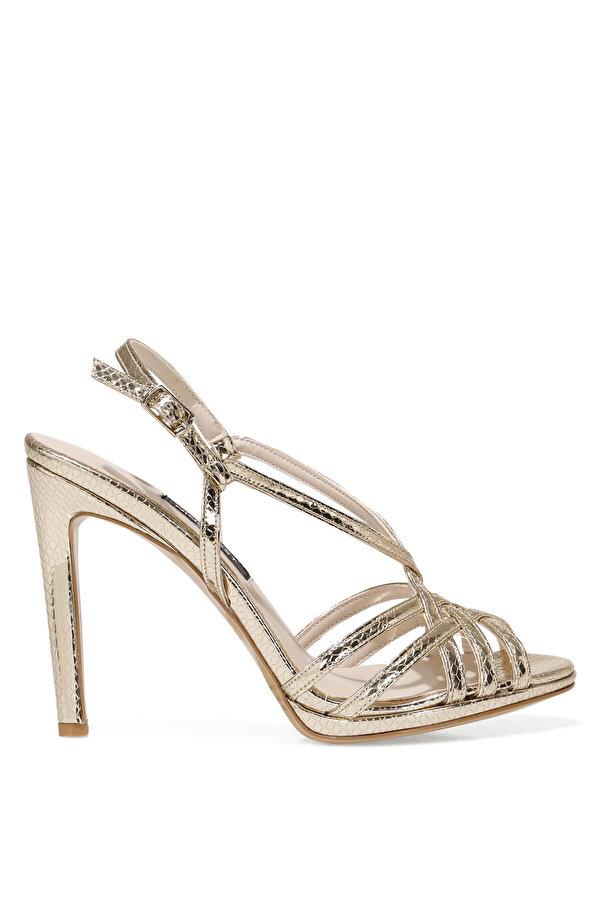 Nine West SISSILIA 1FX Altın Kadın Topuklu Sandalet