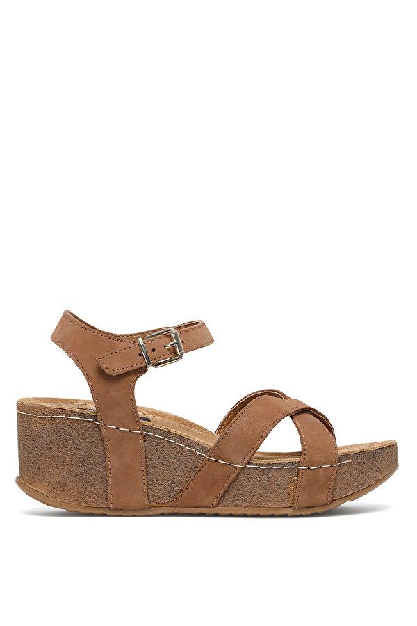 Nine West GOYARD 1FX Taba Kadın Dolgu Topuk Sandalet
