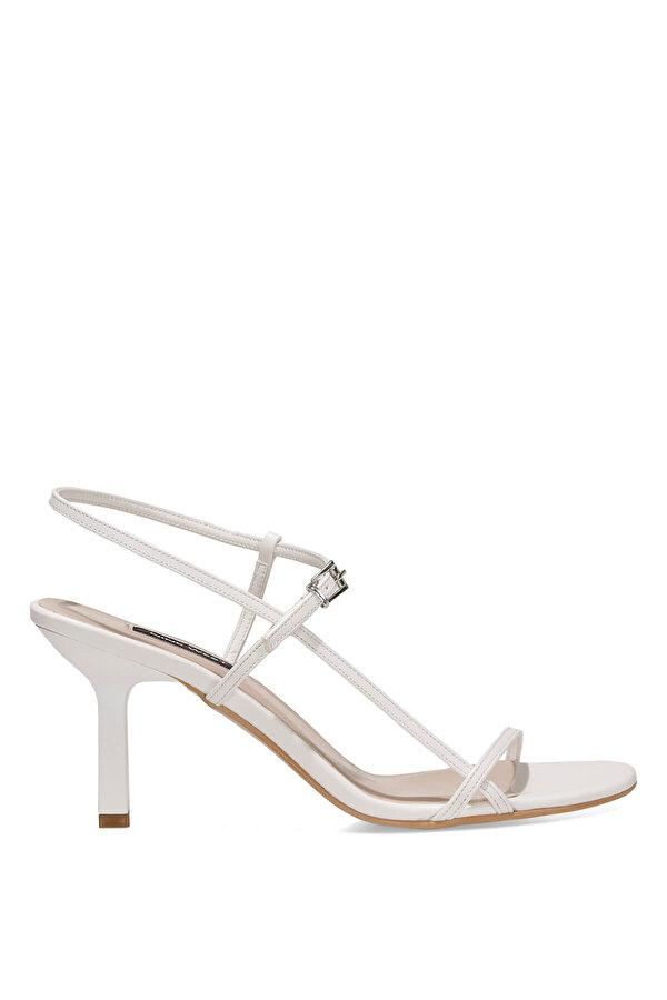 Nine West REBELL 1FX Beyaz Kadın Topuklu Sandalet
