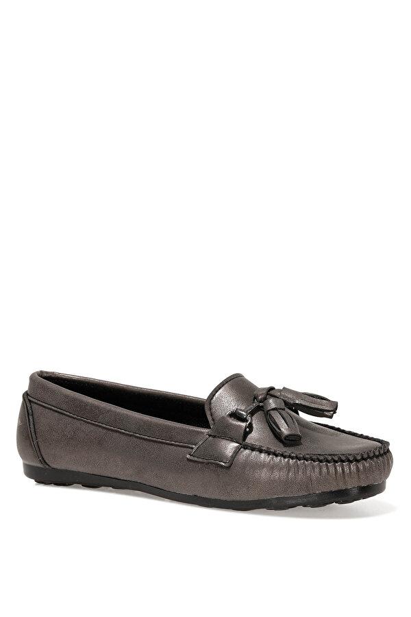İnci NAV.Z 1FX PLATIN SARI Kadın Loafer Ayakkabı