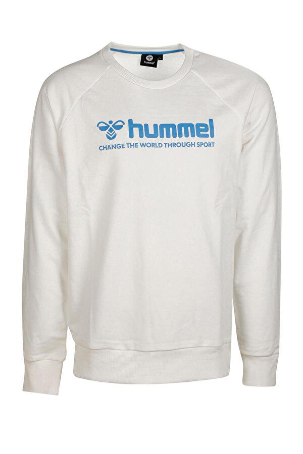 Hummel HMLNUMAS Beyaz Erkek Sweatshirt