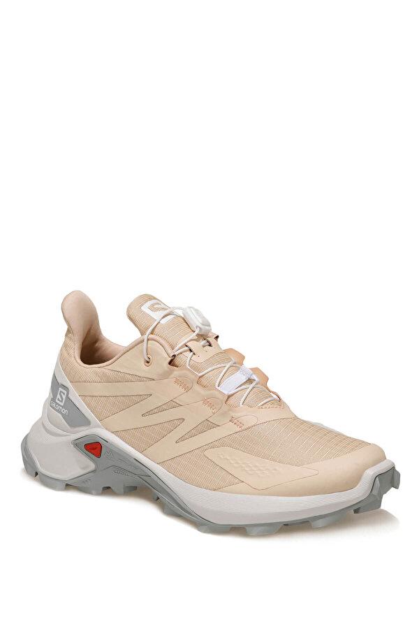 Salomon SUPERCROSS BLAST W Bej Kadın Koşu Ayakkabısı