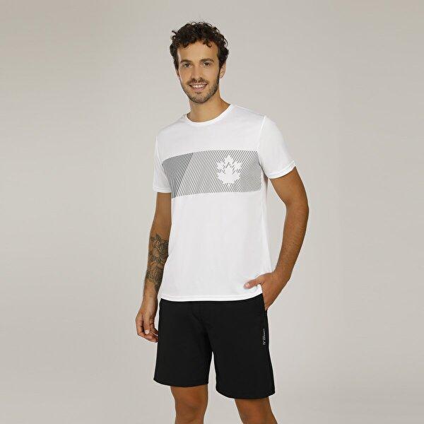 Lumberjack CT335 MIKE LOGO T-SHIRT Beyaz Erkek T-Shirt