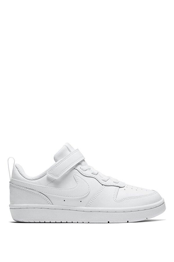 Nike COURT BOROUGH LOW Beyaz Erkek Çocuk Sneaker