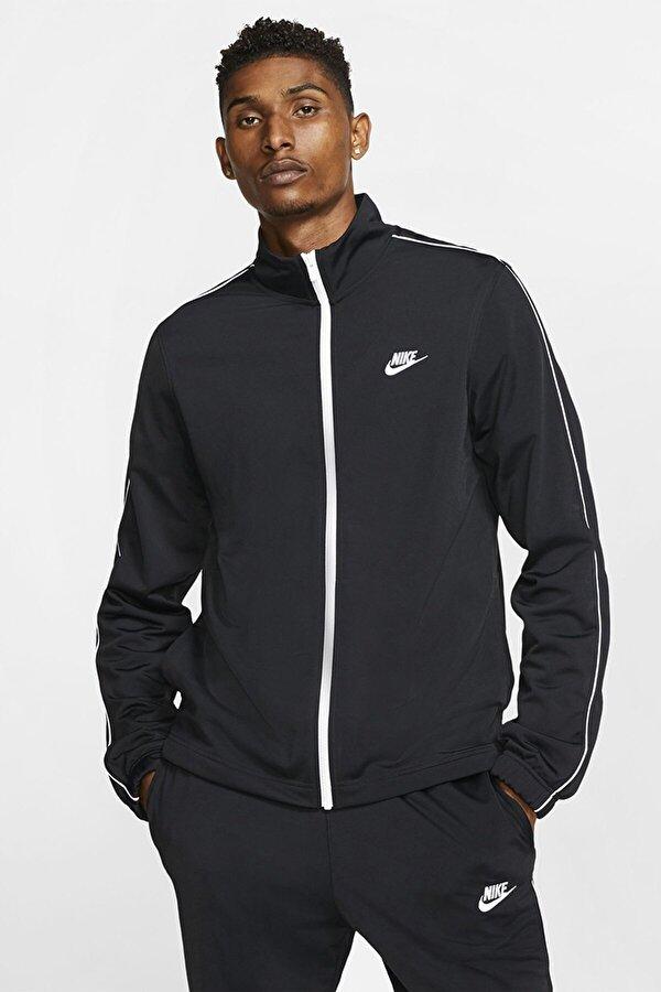 Nike M NSW CE TRK SUIT PK BASI Siyah Erkek Eşofman