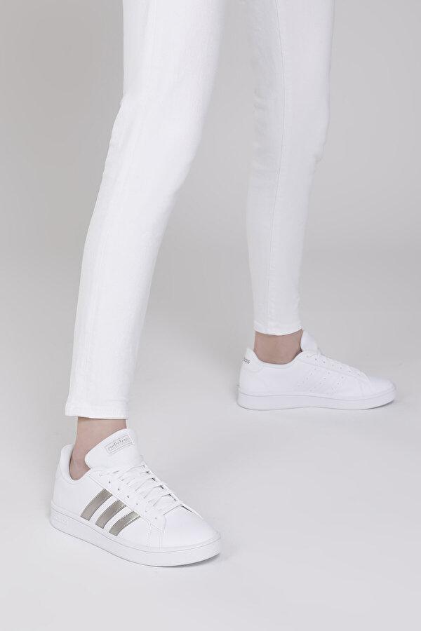 Adidas GRAND COURT BASE Beyaz Kadın Sneaker Ayakkabı