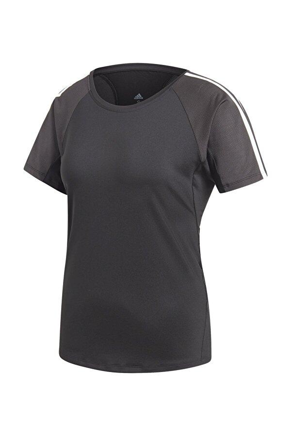 adidas TRNG TEE 3S Siyah Kadın Kısa Kol Tişört